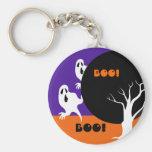 Boo! Halloween Fun Keychain