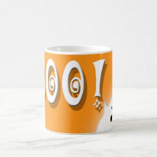 Boo! Halloween ghost pumpkin color Coffee Mug