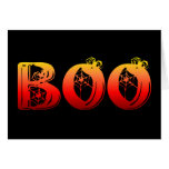 Boo Halloween Greeting Card