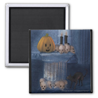 Boo! Halloween Magnet