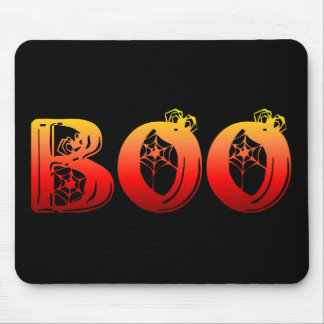 Boo Halloween Mouse Pad