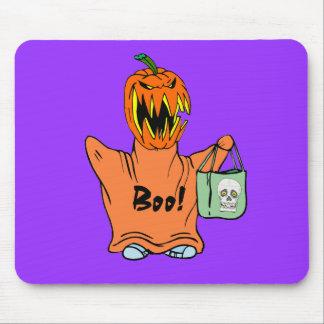 Boo Halloween Mouse Pad