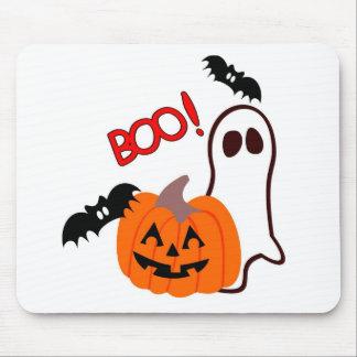 Boo Halloween Novelties Mouse Pad