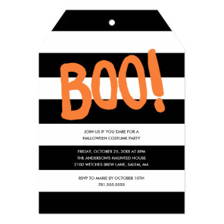 Boo! | Halloween Party Invitation