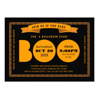 Browse the Halloween Party Invitations Collection and personalize by color, design, or style.