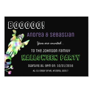 Boo! Halloween Party Invite
