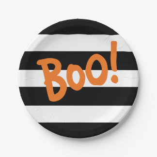 BOO! | HALLOWEEN PARTY PLATE 7 INCH PAPER PLATE