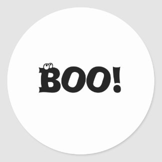 Boo Halloween Stickers