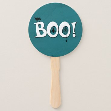Halloween Themed Boo! Hand Fan
