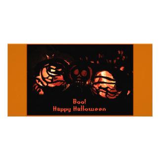 Boo Happy Halloween Card