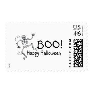 Boo Happy Halloween Postage