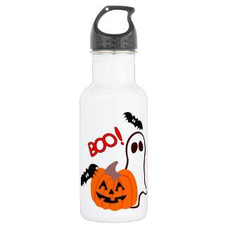 Boo Happy Halloween Water Bottle