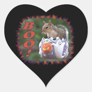 BOO! HEART STICKER