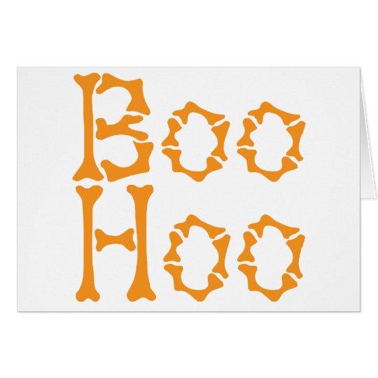 Boo Hoo Card