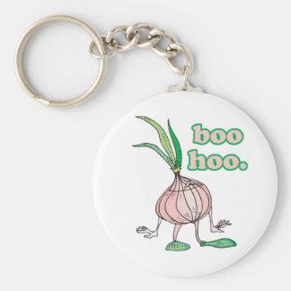 boo hoo silly onion cartoon character basic round button keychain