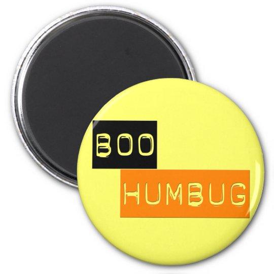 Boo Humbug Anti Halloween Magnet