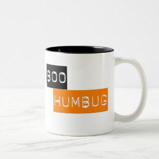 Boo Humbug Anti Halloween Mug