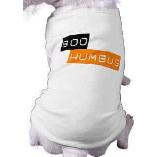 Boo Humbug Anti Halloween Pet Tee