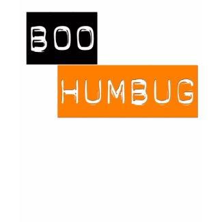 Boo Humbug Anti Halloween T-shirt shirt