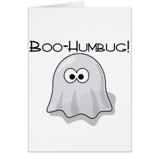 Boo-Humbug Card
