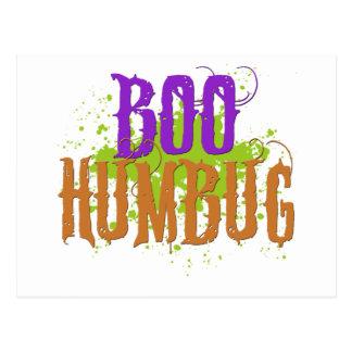 Boo Humbug Postcard