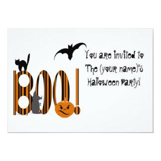 Boo! 5x7 Paper Invitation Card