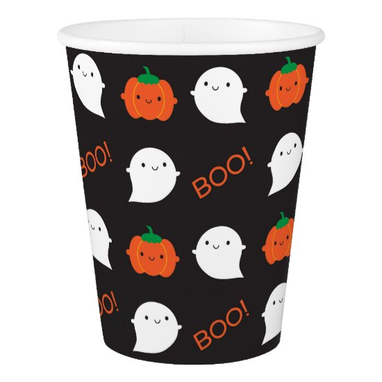 Boo! It's Halloween Paper Cup