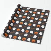 Boo! It's Halloween Wrapping Paper