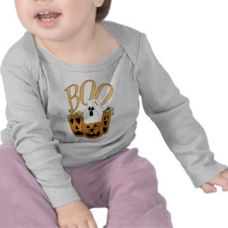 Boo Jack-o-lantern and Ghost Shirts