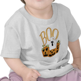 Boo Jack-o-lantern and Ghost Tee Shirts