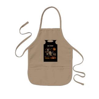 boo kids' apron