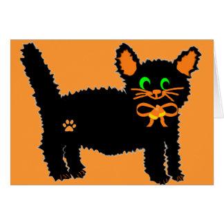 Boo kitty  blank card