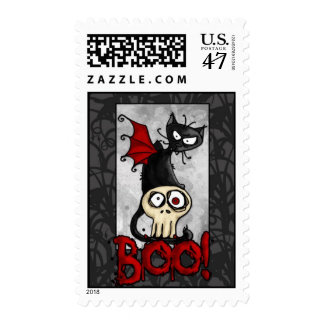 boo kitty postage