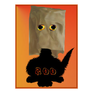 Boo Kitty Poster