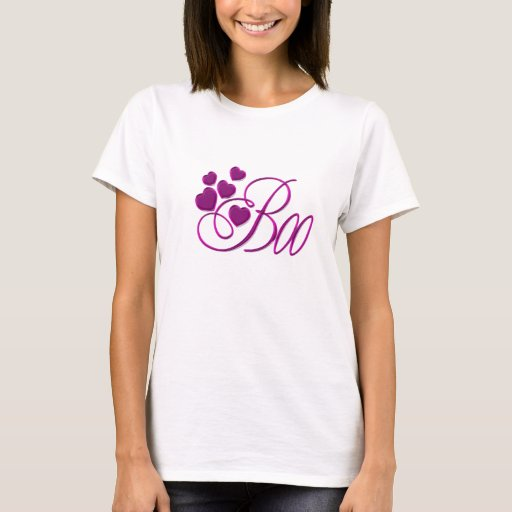 Boo Ladies Baby Doll (Fitted) T-Shirt