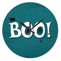 Boo! Large Clock