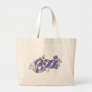 Boo! Large Tote Bag