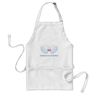 Boo Means I Love You in Ghost Adult Apron