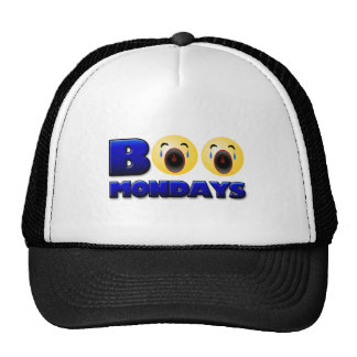 Boo Mondays Baseball Cap Trucker Hat
