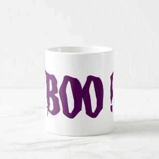 BOO! Morphing Halloween Coffee Cup Mug