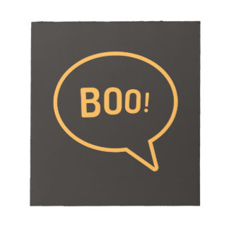 Boo! Note Pad