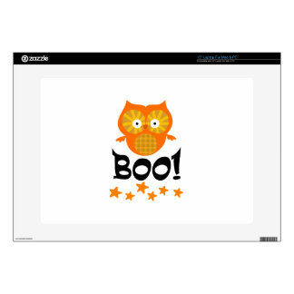 BOO OWL DECALS FOR LAPTOPS