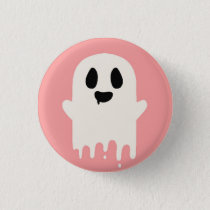 Boo Pinback Button