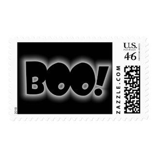 BOO! POSTAGE STAMP