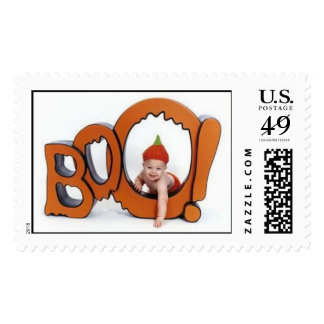 Boo Postage Stamp