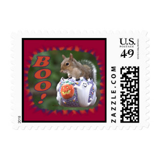 BOO! - Postage Stamps