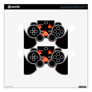 Boo! PS3 Controller Decals
