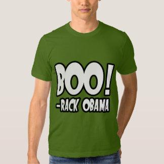 BOO-RACK OBAMA COSTUME T SHIRTS