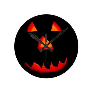 Boo! Round Clock