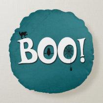 Boo! Round Pillow